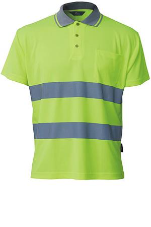 Koszulka polo odblskowa Coolpass