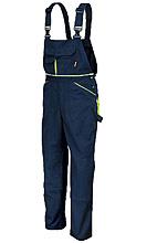 Spodnie robocze na szelkach z płótna T/C