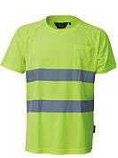 T-shirt odblaskowy Coolpass o intensywnej widzialności